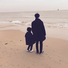 where two single dads meet, and become one happy family? Cute Asian Babies, Korean Babies, Asian Kids, Cute Babies, Father And Baby, Dad Baby, Baby Kids, Ulzzang Kids, Ulzzang Couple