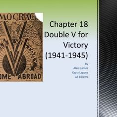 By Alan GamezKayla Laguna Ali Bowers    International rivalry and territorial aggression led to the First World War  The Treaty of Versailles was produc. http://slidehot.com/resources/chapter-18-double-v.35460/
