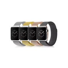 df56c615707 iPM Milanese Stainless Steel Mesh with Magnet Closure Replacement Bracelet  for Apple Watch