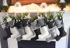 16 Diy Christmas Stockings Full Of Santa�s Gifts