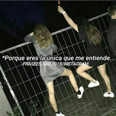 100 frases para Facebook   ▷ Memes Random Besties Quotes, Bffs, Love Quotes, Sunset Pictures, Friend Pictures, Romantic Memes, Friend Tumblr, Spine Tattoos, Funny Phrases