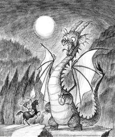Dragon drawing by imaginism.deviantart.com on @deviantART