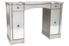 Emma Mirrored Desk on OneKingsLane.com