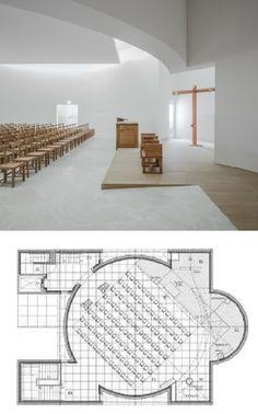 Church of Saint-Jacques-de-la-Lande, Rennes (2017)   Álvaro Siza