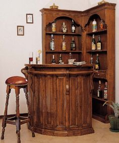 Corner Bar On Pinterest Corner Bar Home Bars And Basement Bars