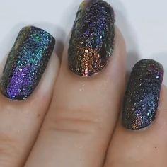 Feb 2020 - A fun range of artistic nail design ideas! 💅🥰 By: Nail Art Designs Videos, Nail Art Videos, Cute Nail Designs, Acrylic Nail Designs, Airbrush Nails, Uv Gel Nails, Diy Nails, Acrylic Nails, Gradient Nails