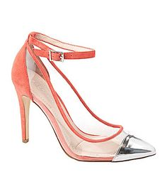BCBGeneration Cynthia AnkleStrap Pumps #Dillards-new trend
