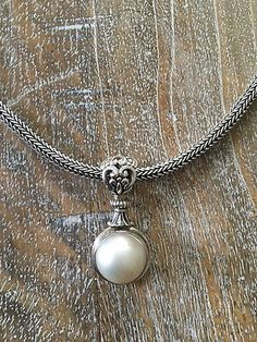 MMC Flying Butterfly Pearl Silver Pendants Necklaces