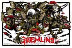 Gremlins- This was the movie that made me start checking behind the shower curtain every time I had to pee!
