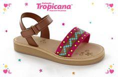 ✨ Tenemos un modelo nuevo de #sandalia para las peques ✨ ¿Qué te parece este estilo #mami?   ¿Te gustaría encontrarlo con nuestros distribuidores?  Calzado para niñas, calzado #Tropicana ❤