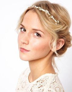 The Great Gatsby fashion trend: Head pieces. #KnotHeadBand