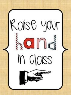 Using some of Ron Clark's Essential 55 and a few of my own pet peeves, I created 14 Manners posters to remind your little ones. These would also be...