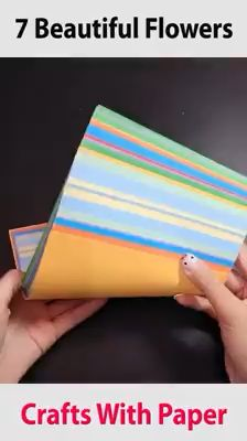 Creative ideas about paper crafts. Interior Design Videos, Interior Design Plants, Interior Design Sketches, Interior Design Business, Creative Crafts, Creative Ideas, Bookmarks Kids, Paper Crafts Origami, Arya
