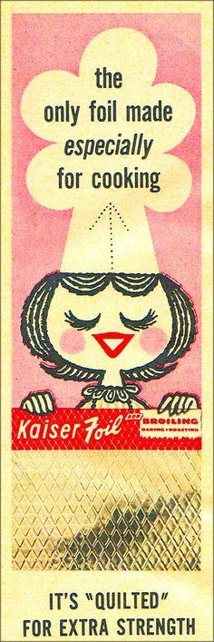 Kaiser Foil, 1957. Tumblr