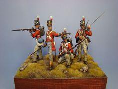 Hawk Miniatures:Figure: Grenadier Guards at the Battle of Waterloo 1815
