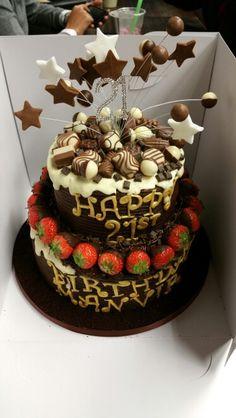 Chocolate HEAVEN birthday Cake