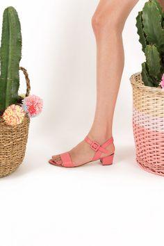 Sandali con fibbietta ricoperta Abbigliamento Donna Made in Italy