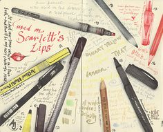 Journal pages