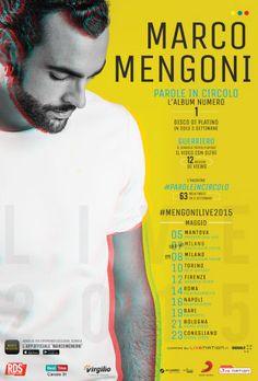 Concerto Marco Mengoni Mantova 05/05/2015
