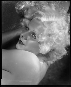 Jean Harlow from Dinner at Eight by George Hurrell