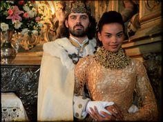 King Augusto and Queen Cesária of the novel Cordel Encantado