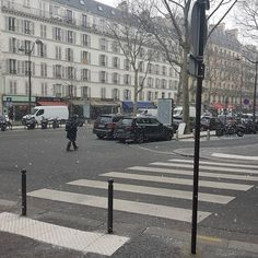 Retour de la neige :D #snow #paris