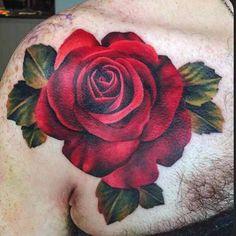 black rose tattoo color - Szukaj w Google