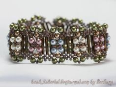 Variant of RAW plus.  Nice individual components. #seed #bead #tutorial