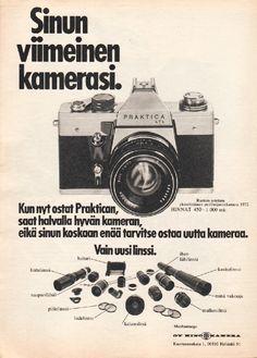 Mainos Tekniikan Maailma -lehdessä 1973
