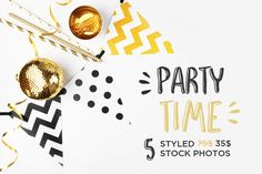 Party styled stock photography by Kristina&Co on Creative Market