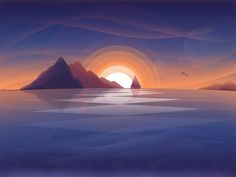 Sunset by Ikor   TheNewVision