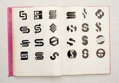 Trade Marks & Symbols - this is so nerdy, but i'm obsessed with every page in this book.