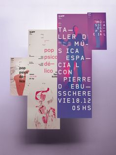 Festival Posters & Flyers by Patricio Murphy, via Behance