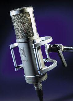 Brauner Valvet microphone. Nice all around studio mic.