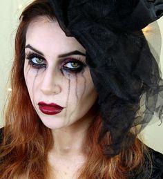 www.LetzMakeupBlog.com: Black Widow Makeup Tutorial | Easy, Glam Halloween Look.