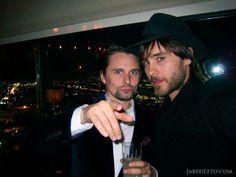 Matt Bellamy & Jared Leto