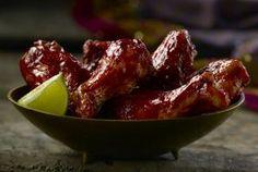 Spicy Crock-Pot Chicken Wings in Honey Barbecue Sauce: Slow Cooker Barbecue Chicken Wings