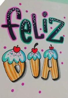 Ideas Para Fiestas, Sharpie, Irene, Gratitude, Diy And Crafts, Doodles, Happy Birthday, Lettering, Disney