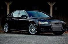Audi A8L  Seats: 3-4 (2 or 3 in rear, 1 next to Chauffeur)  Luggage: 2 x check-in luggage, 1 x overhead luggage
