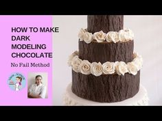 Modeling Chocolate has become a valuable ingredient in cake decorating .  This simple 4370cbd0bc952