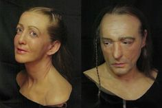 Facial Reconstruction of a Celtic couple.