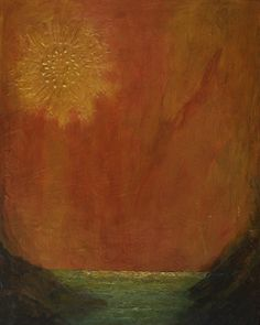 "Donna Holdsworth Contemporary Art: ""I'll Follow The Sun"" Contemporary Abstract Modern..."