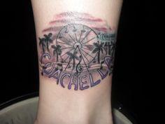 Coachella tattoo - music festival tattoo #t4aw #temporarytattoo #justinbieber #tattoo