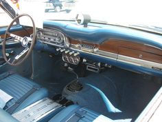 1963 Ford Falcon Sprint | Flickr - Photo Sharing! Custom Car Interior, Truck Interior, Midnight Rambler, Early Bronco, Mercury Cars, Sprint Cars, Ford Falcon, Dashboards, Station Wagon