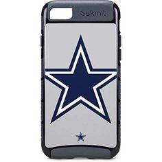 71f2446e6009c2 Skinit NFL Dallas Cowboys iPhone 8 Cargo Case - Dallas Cowboys Large Logo  Design - Durable Double Layer Phone Cover