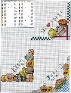 Revista Bread Cloths Ponto Cruz - Lucilene Donini - Picasa Web Albums