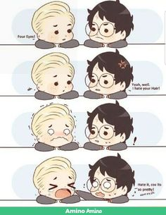 """one does not simply tell Draco he needs """"advice"""" DON'T YOU KNOW! Part 1 [ Ron ] Drarry- Wooing Draco 2 Harry Potter Comics, Fanart Harry Potter, Arte Do Harry Potter, Harry Potter Draco Malfoy, Harry Potter Ships, Harry Potter Jokes, Harry Potter Universal, Harry Potter Fandom, Harry Potter Hogwarts"""