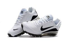 New Coming Nike Air Max 2017 5+ KPU White Black Men Shoes