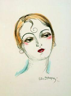 Kees van Dongen - Madame X, 1927