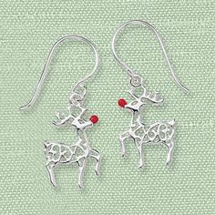 Reindeer earrings! Unique Jewelry at Affordable Prices | Nature's Jewelry